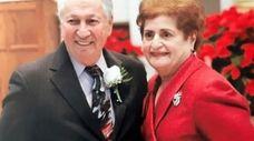 Anthony and Agatha Monteleone on Feb. 13, 2021,