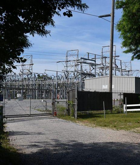 Photo of the PSEG substation on Ruland Road