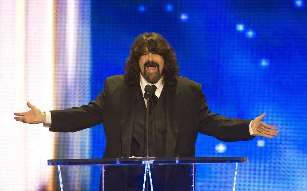 Long Island's own Mick Foley was inducted into