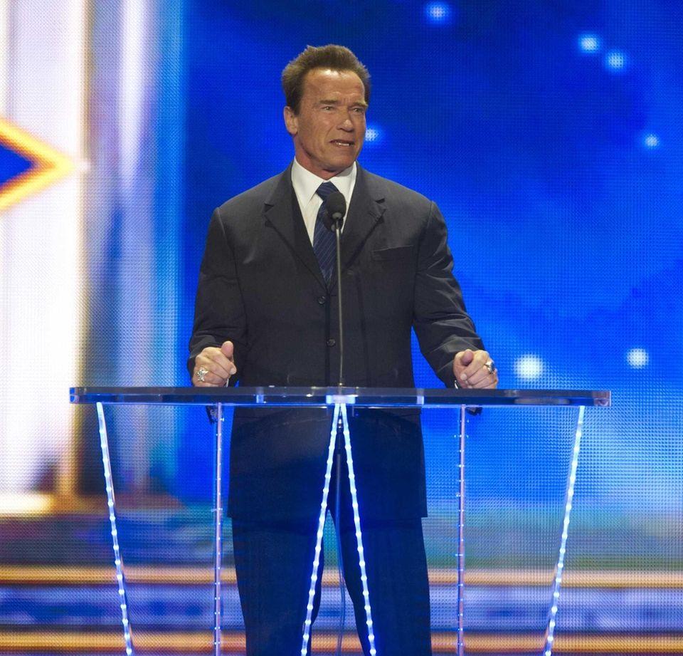 Arnold Schwarzenegger wrote an opinion piece in April