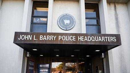 Suffolk Police Headquarters in Yaphank, Tuesday, Nov. 26,