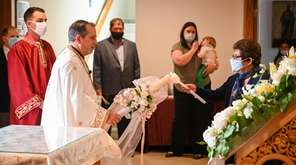 Long Island Orthodox Christians gathered together Sunday and