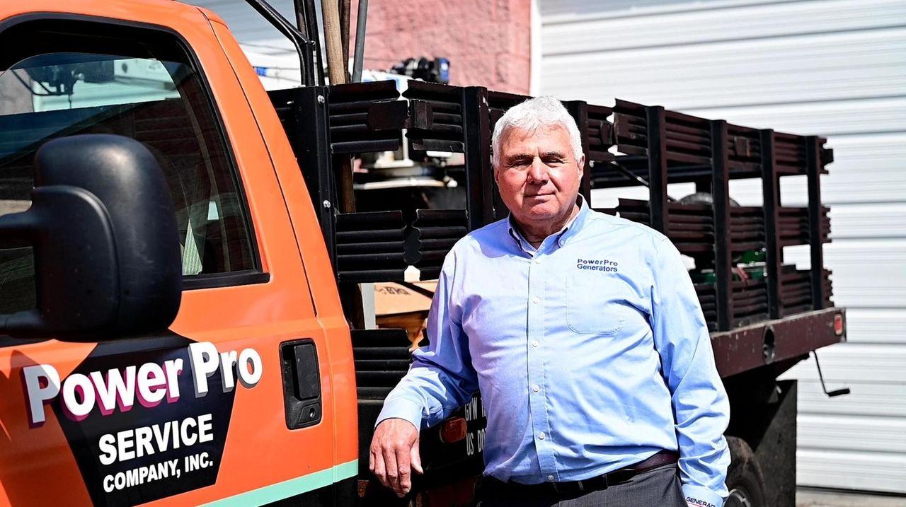 Frank Navetta, owner and president of PowerPro Generators