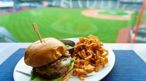 The Mets on Tuesday introduced the Polar Burger.