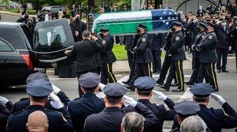 The body of Anastasios Tsakos, the NYPD police