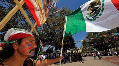 Cinco de Mayo festivities on May 5, 2010,