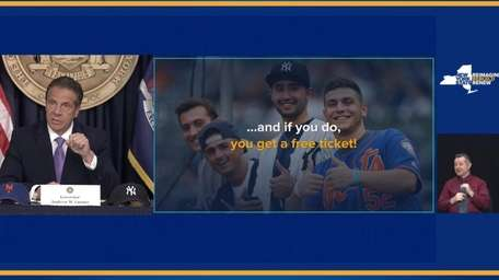 On Wednesday, Gov.Andrew M. Cuomo announcesthat fans who