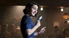 "Rachel Brosnahan stars as Miriam ""Midge"" Maisel in"