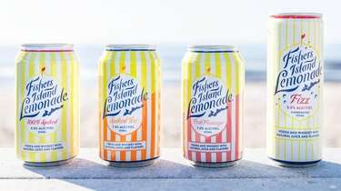 Fishers Island Lemonade has launched three new spiked