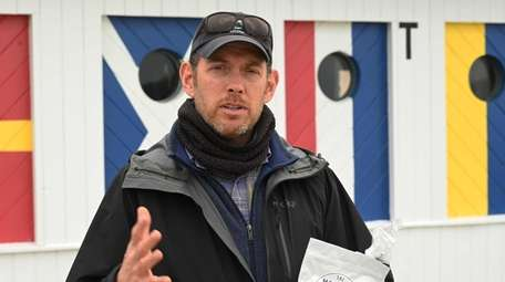Sean Barrett founded Montauk Seaweed Supply Co., which