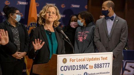 Nassau County Executive Laura Curran announced an initiative