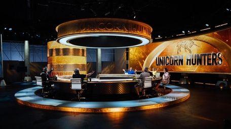 """Panelists on the """"Unicorn Hunters."""""""