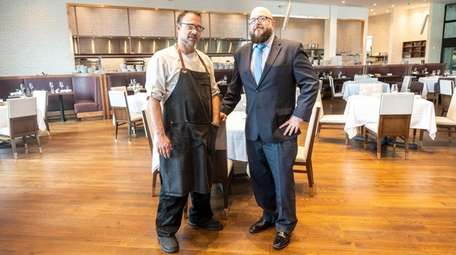 One10 restaurant executive chef Ron Gelish and general