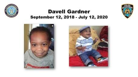 Davell Gardner, 1, died after he was hit