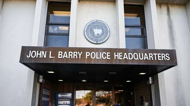 Suffolk Police Headquarters in Yaphank on Nov. 26,