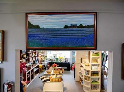 """Marion Vaccaro Wipf's """"Lavender Field"""" at The Old"""