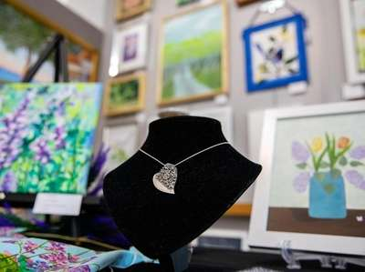 Mary Anne Huntington's jewelry is a study in
