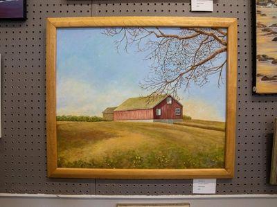 """Jo-Ann Corretti's """"Red Barn 2."""""""