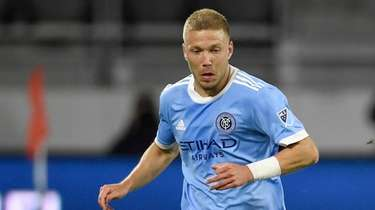 Anton Tinnerholm #3 of New York City FC