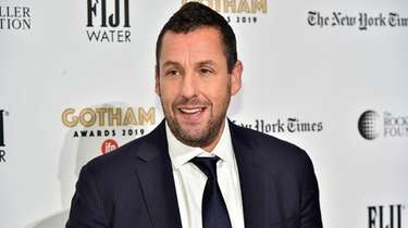The video of Adam Sandler leaving a Manhasset