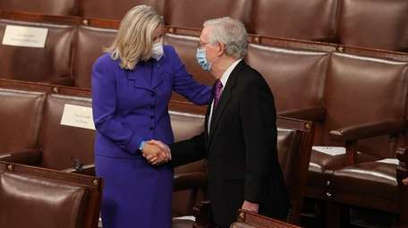 U.S. House Republican Conference Chairperson Rep. Liz Cheney
