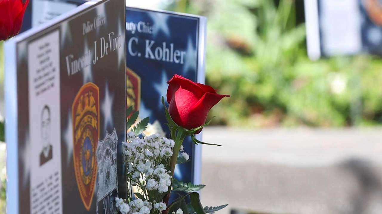 On Friday, the Suffolk County Police Department remembered
