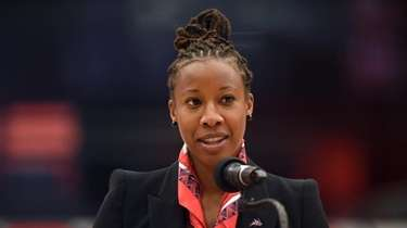 Ashley Langford, newly-named Stony Brook women's basketball head