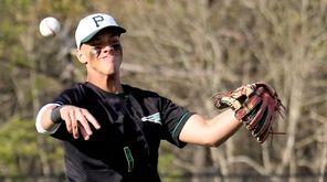 Ward Melville third baseman Brian Silverio makes the