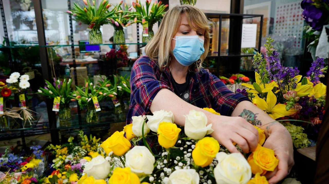 A year into the pandemic, flower sales have