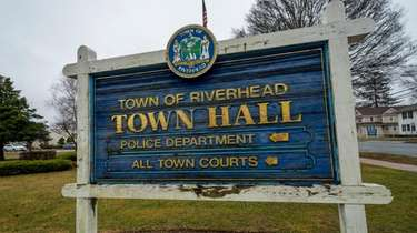 Riverhead Town Hall in Riverhead in February 2020.