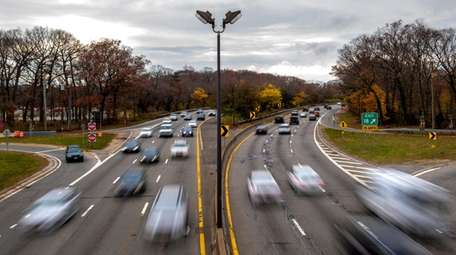 The Southern State Parkway as seen from the