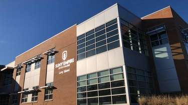 Students at the SUNY Empire State College campus