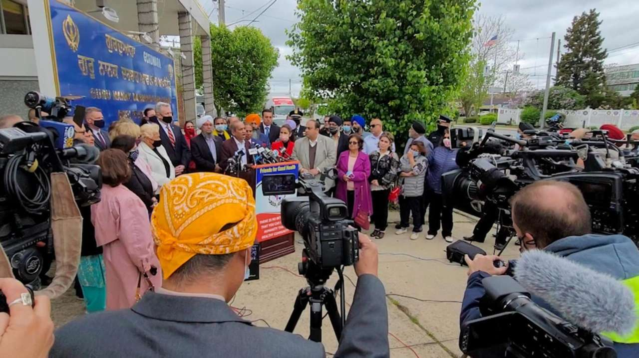 Nassau officials and community leaders announced on Monday