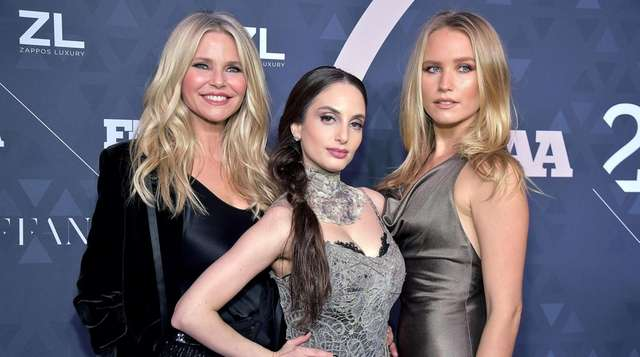 Bridgehampton supermodel Christie Brinkley and daughters Alexa Ray