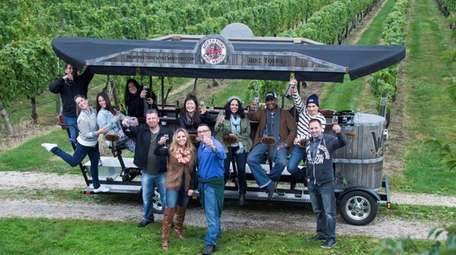 The North Fork Wine Wagon is a 15