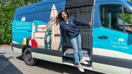 Danielle Candela, founder of Tote Taxi, said she