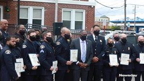 The Village of Hempstead honored members of their