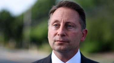 Westchester County Executive Rob Astorino is seen near