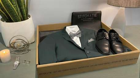 Stitch & Tie's tuxedos and wedding suits arrive