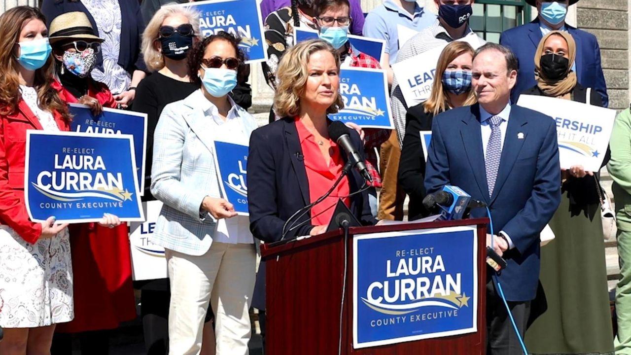 On Tuesday, Nassau County Executive Laura Curranannounced her