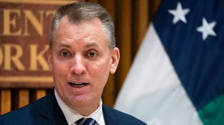 NYPD Commissioner Dermot Shea said he came up