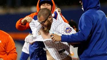 Patrick Mazeika #76 of the New York Mets
