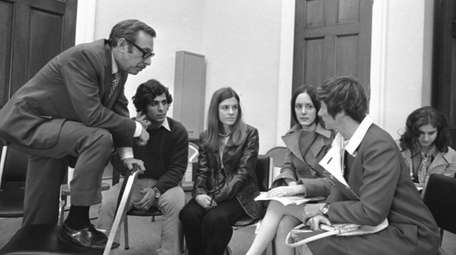 Rep. Lester Wolff in 1970 on Capitol Hill