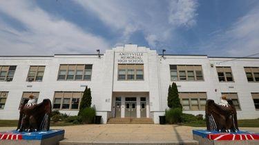 An Amityville Memorial High School teacher has been