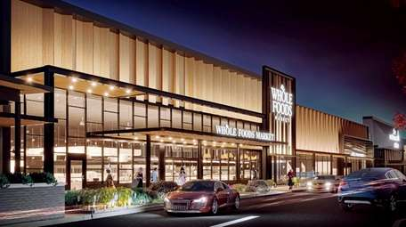 Architect's rendering of a Whole Foods planned for