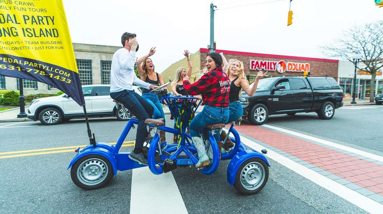 A new pedal party bike tour is now