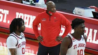 St. John's Red Storm head coach Mike Anderson