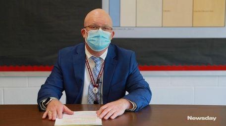 Timothy Eagen, the Kings Park school superintendent, talks