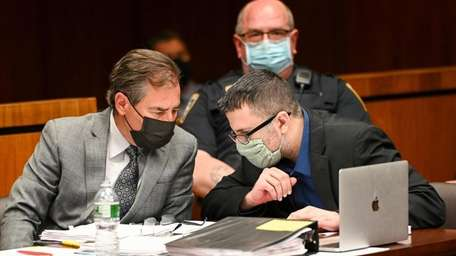 Michael Valva, the ex-NYPD officer from Center Moriches