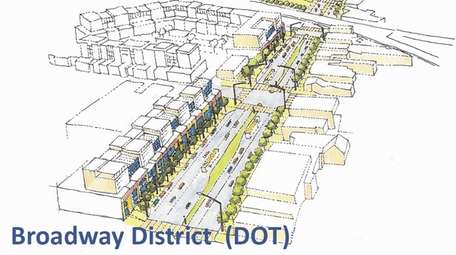 Plans to revitalize Hicksville's downtown around the Long